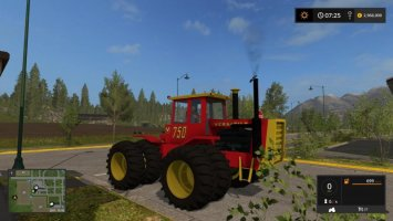 Versatile 6cyl articulated 4WD FS17