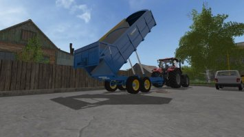 West 12t Grain Trailer FS17
