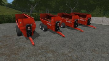 Abbey 2550 Manure Spreader FS17