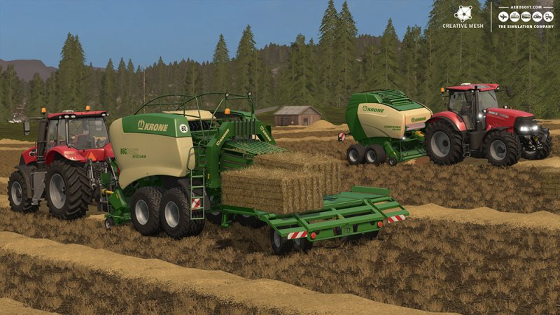 Farming Simulator 17 Add-On Straw Harvest - FS17 Mod | Mod