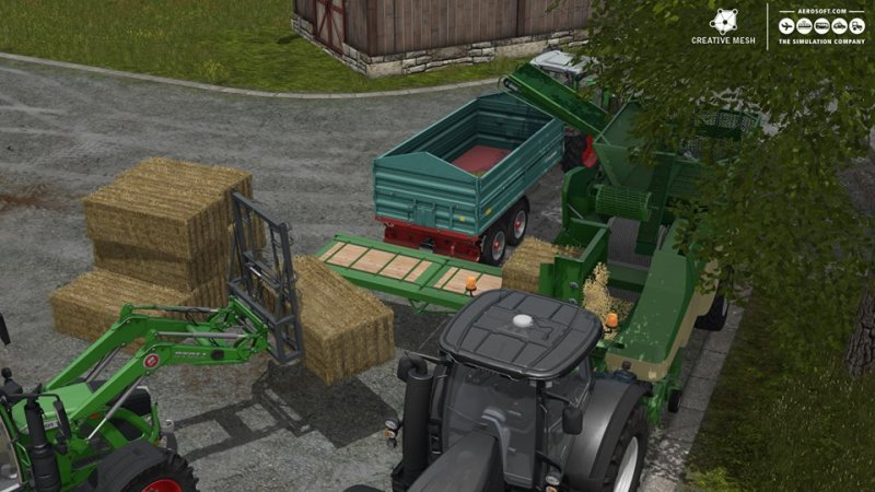 Farming Simulator 17 Add-On Straw Harvest - FS17 Mod | Mod for