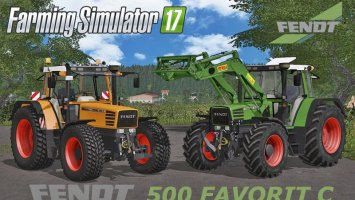 Fendt 500 Favorit C Series v4