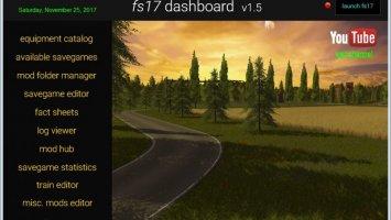 FS17 Dashboard v1.5 FS17