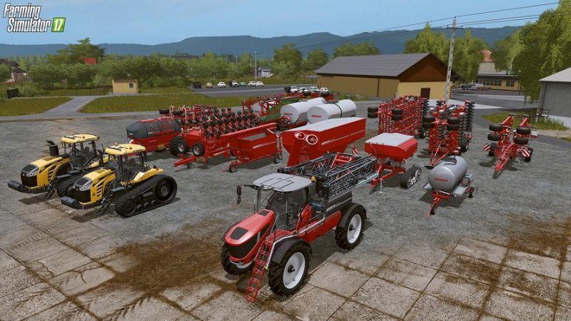 Horsch Agrovation Free DLC FS17