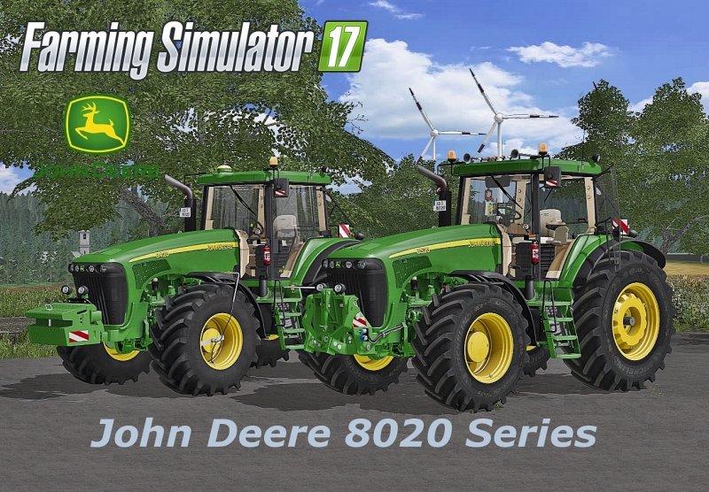 John Deere 8020 Series v4 Final FS17