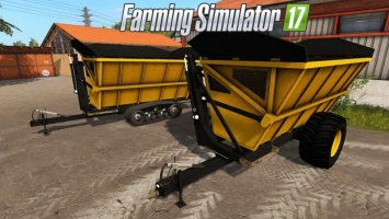 OXBOW HIGH DUMP TRAILER FS17