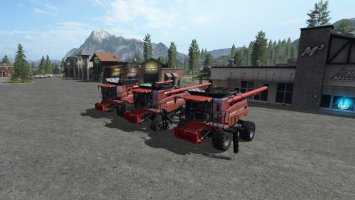 Case IH combines pack v2.0 fs17