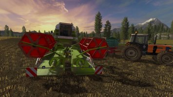 Claas C540 folding cutter fs17