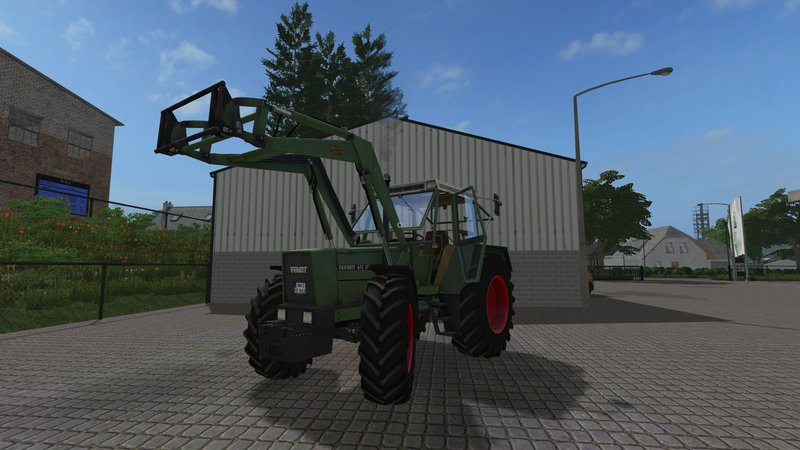 Fendt 611 LSA Turbomatik E Used FS17