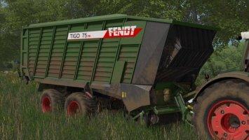 Fendt Tigo 75XR FS17