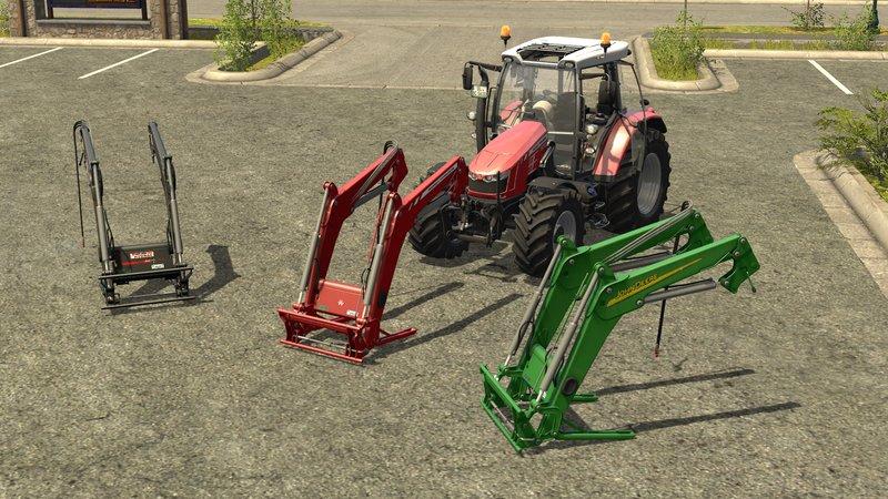 Frontlader pack tools fs mod mod for landwirtschafts