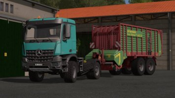 Mercedes Arocs Agrar FS17