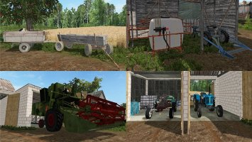 Modpack for small village FS17