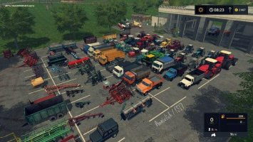 NEW YEAR MOD PACK (Russian) FS17