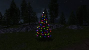 Placeable Christmas Tree FS17
