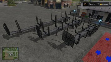 Timber Runner Wide With Autoload FS17