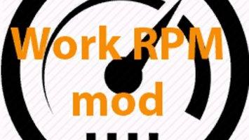 Work RPM v1.2 FS17