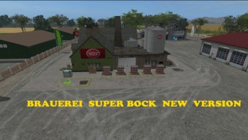 Brewery Super Bock Placeable v1.1 FS17