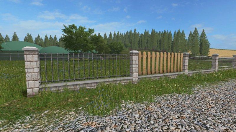 Garden Fence Set Fs17 Mod Mod Do Farming Simulator 17