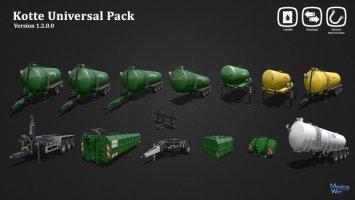 Kotte Universal Pack v1.2 FS17