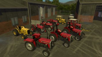 Massey Ferguson 135 And 240 v1.1 fs17