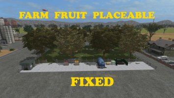 Placeable Farm Fruit FS17