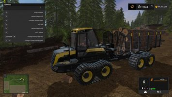 Ponsse Buffalo with autoload and loading aid v1.1 FS17