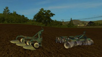 Ransomes HR31-86 And TS90 3F FS17