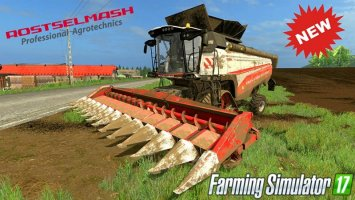 Rostselmash Torum 770 New Beta fs17