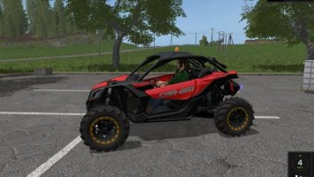 CAN-AM MAVERICK X3 turbo fs17
