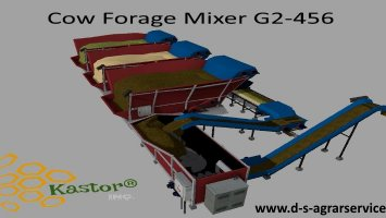 Cow Forage Mixer G2-456 By Kastor Inc.