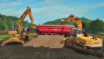 Excavator Liebherr 902 Pack v1.0.0.1 fs17