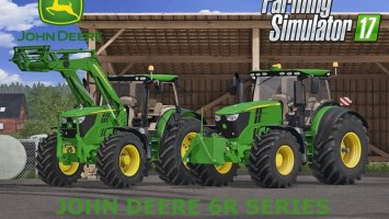 John Deere 6R Series Full Pack FS17