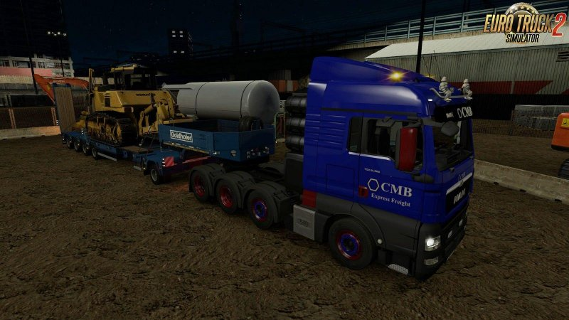 Addon Mod for MAN TGX Euro 6 v2.0 by MADster 1.30.x ETS2