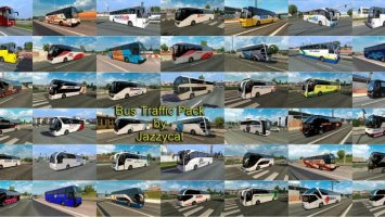 Bus Traffic Pack by Jazzycat v3.9 ets2