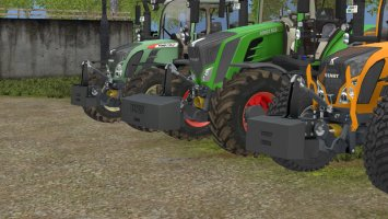 Fendt Weights Pack fs17