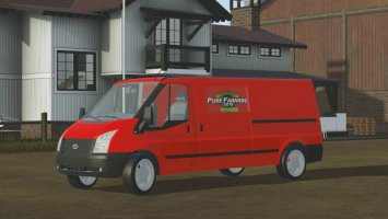 Ford Transit Box Truck pf2018