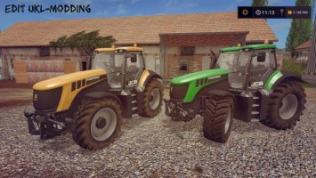 JCB FASTRAC 8000 V1.2 EDIT UKL-MODDING fs17