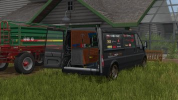Lizard Rumbler Van Workshop fs17
