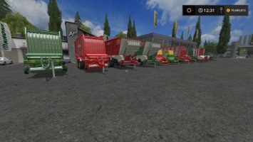 Loader Wagons by Stevie fs17
