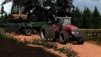 Massey Fergusson 8670 DynaVT v1.1 TECH FARM fs17
