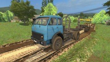 MAZ-504 Forest + Trailer