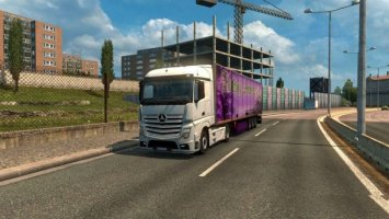 Mercedes Actros MP4 Reworked v1.2 [Schumi] [1.30] ets2