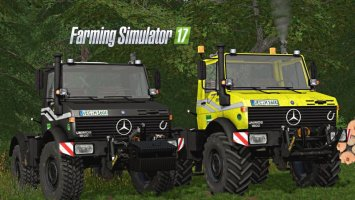 Mercedes Unimog U1200/U1600 V2 Full Edition FS17