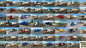 Painted Truck Traffic Pack by Jazzycat v5.4 ets2