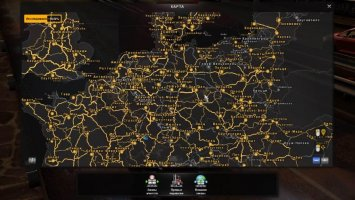 RusMap and Poland Rebuilding road connection 1.30 ets2