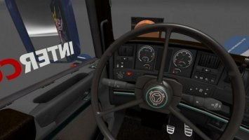 Scania RJL Special Interior dark brown 1.30.x ets2