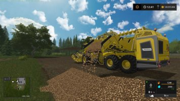 Standard Holmer and Ropa DLC machines potato ready
