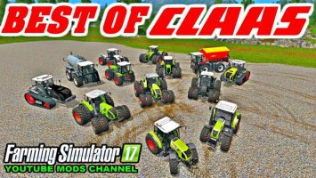 All Claas Tractor Pack fs17