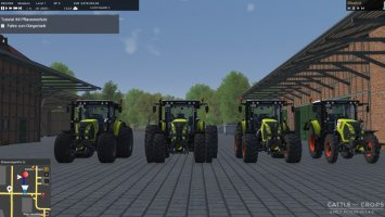 Claas Arion 500 Set v1.8 cnc